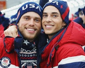 Gus Kenworthy and Adam Rippon